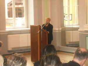 Prof. Silvia Florea, Vorsitzende des Deutschlehrerverband-Rumäniens