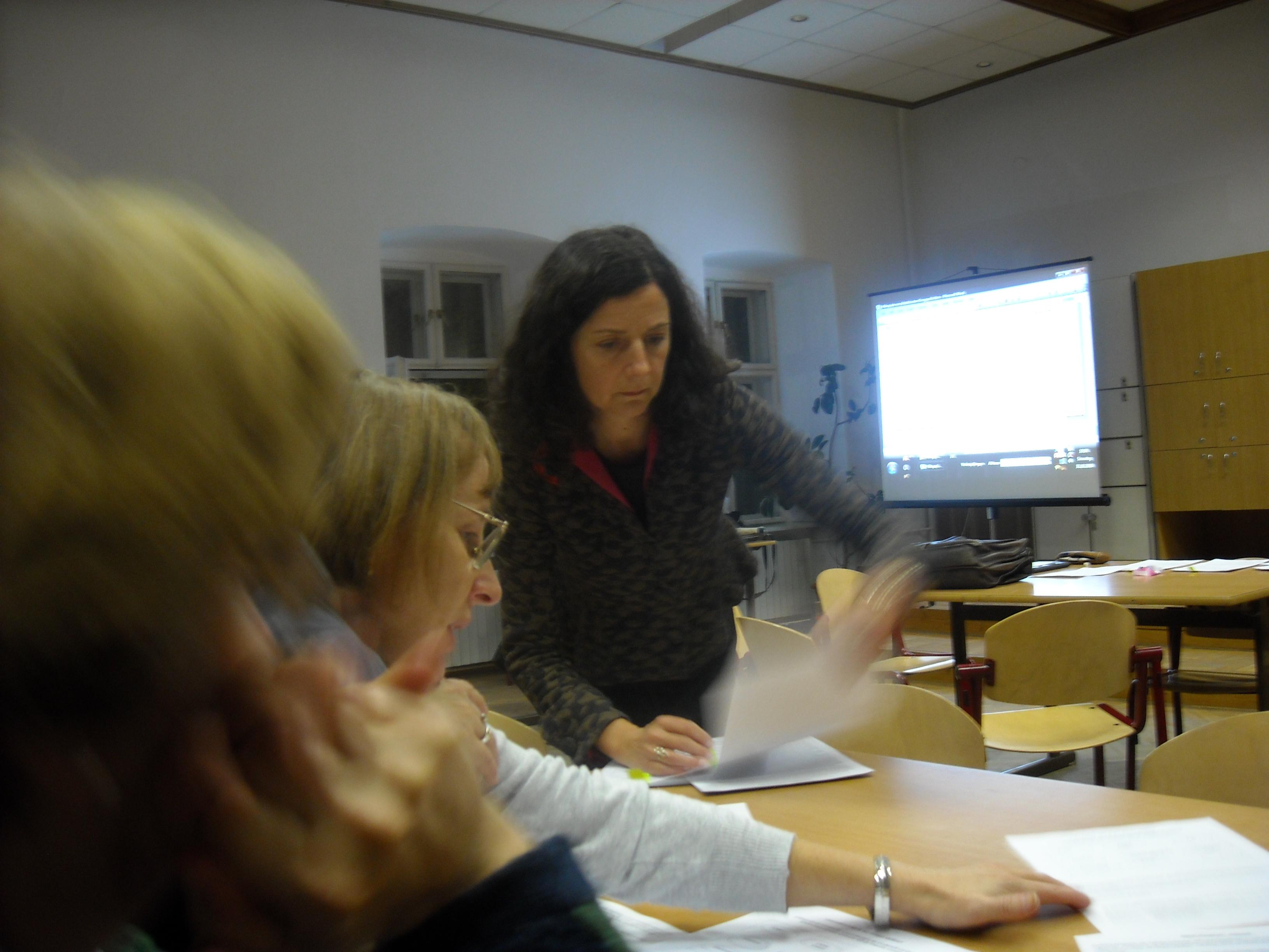 22.Arbeits sequenz, Dr. Gabriela Cordemans, Progr