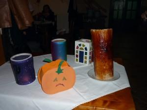 29.Interkultureller Abend in Moeciu, Kürbislaterne und Baums