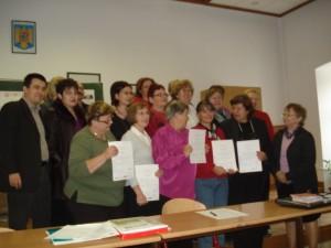 32. Ein großer Sieg!Multiplikatoren Diplom Verleihung